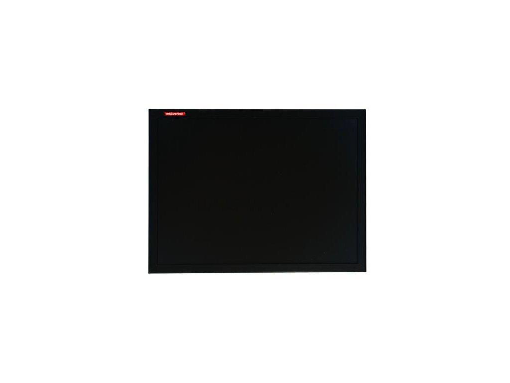 Memoboards, křídová tabule, černý dřevěný rám