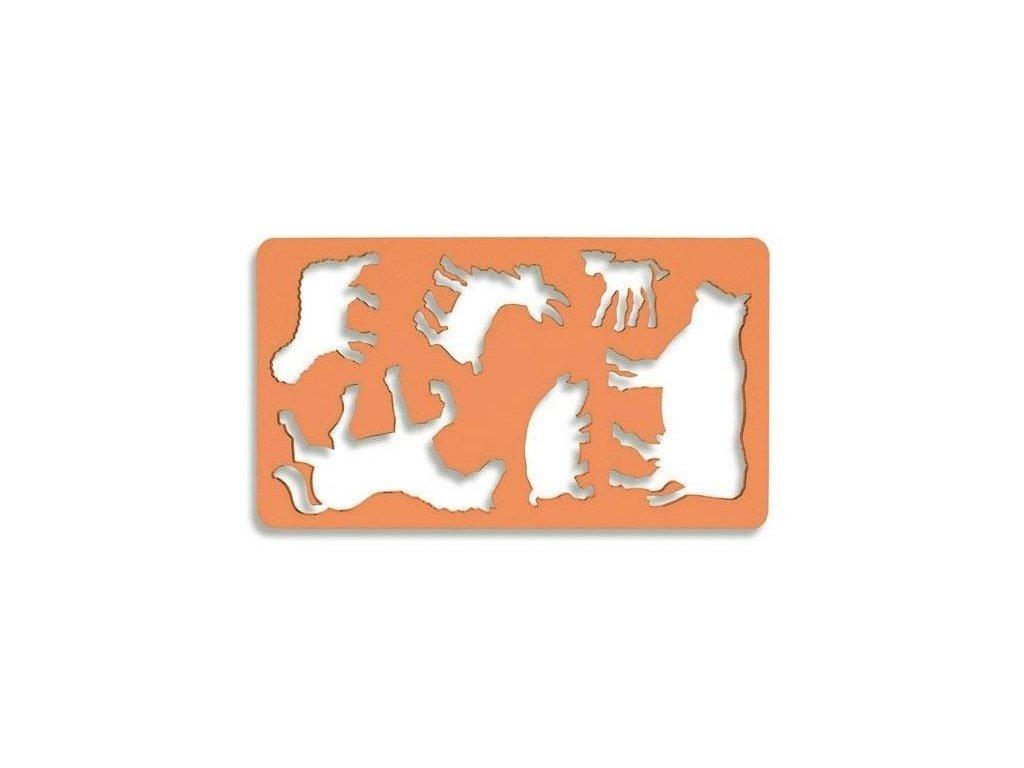 Koh-i-noor, šablona domácí zvířátka