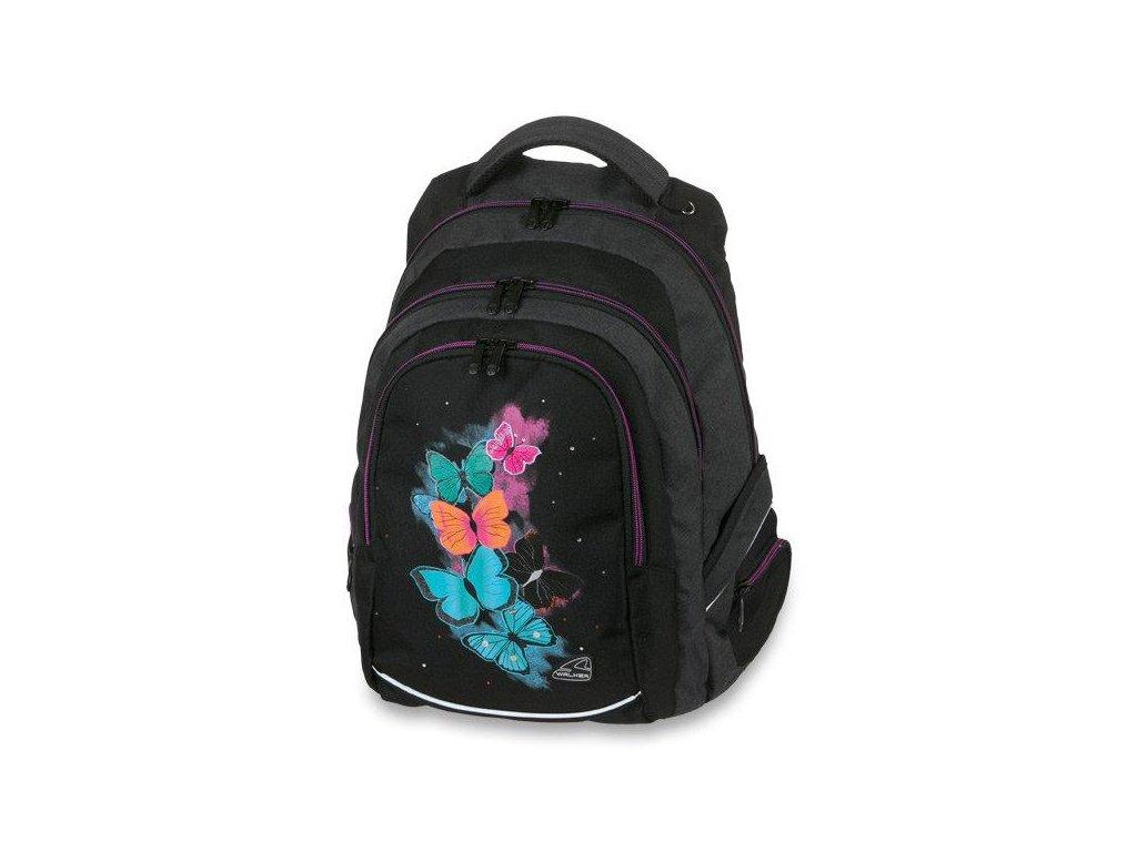 Školní batoh batoh WALKER FAME BUTTERFLY