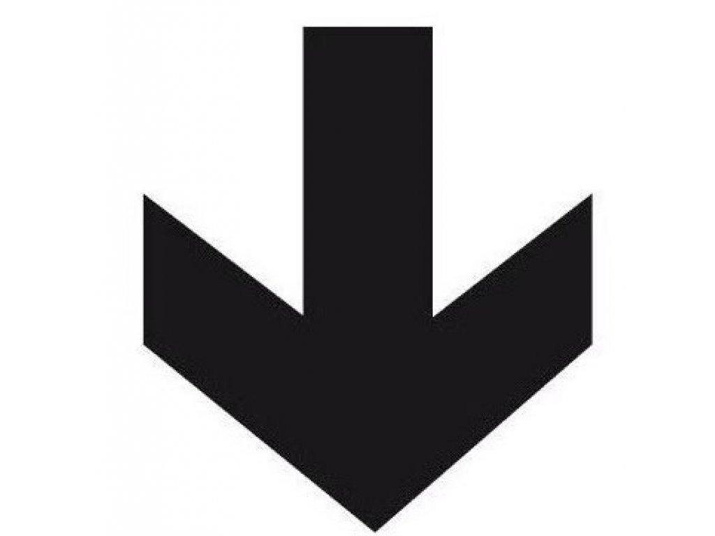 Apli, informační značka, šipka