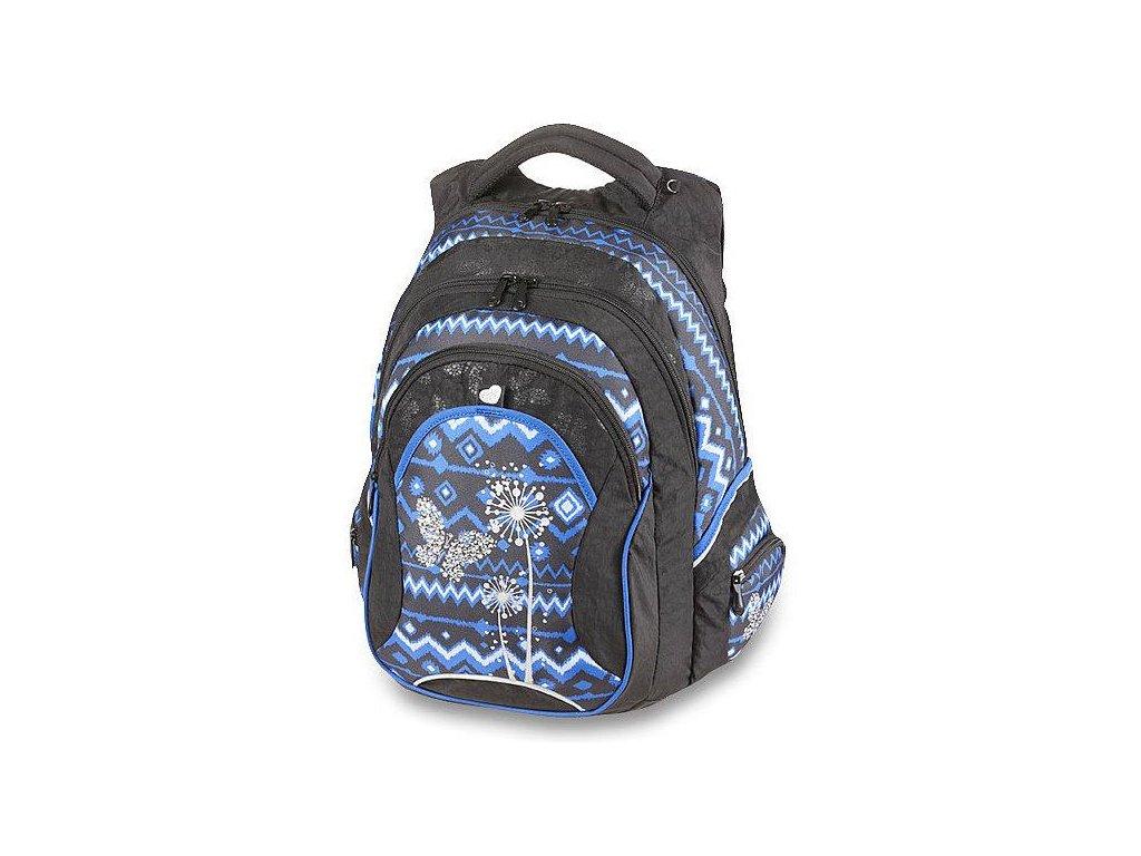 Studentský batoh WALKER Fun Paradise INDI modrý