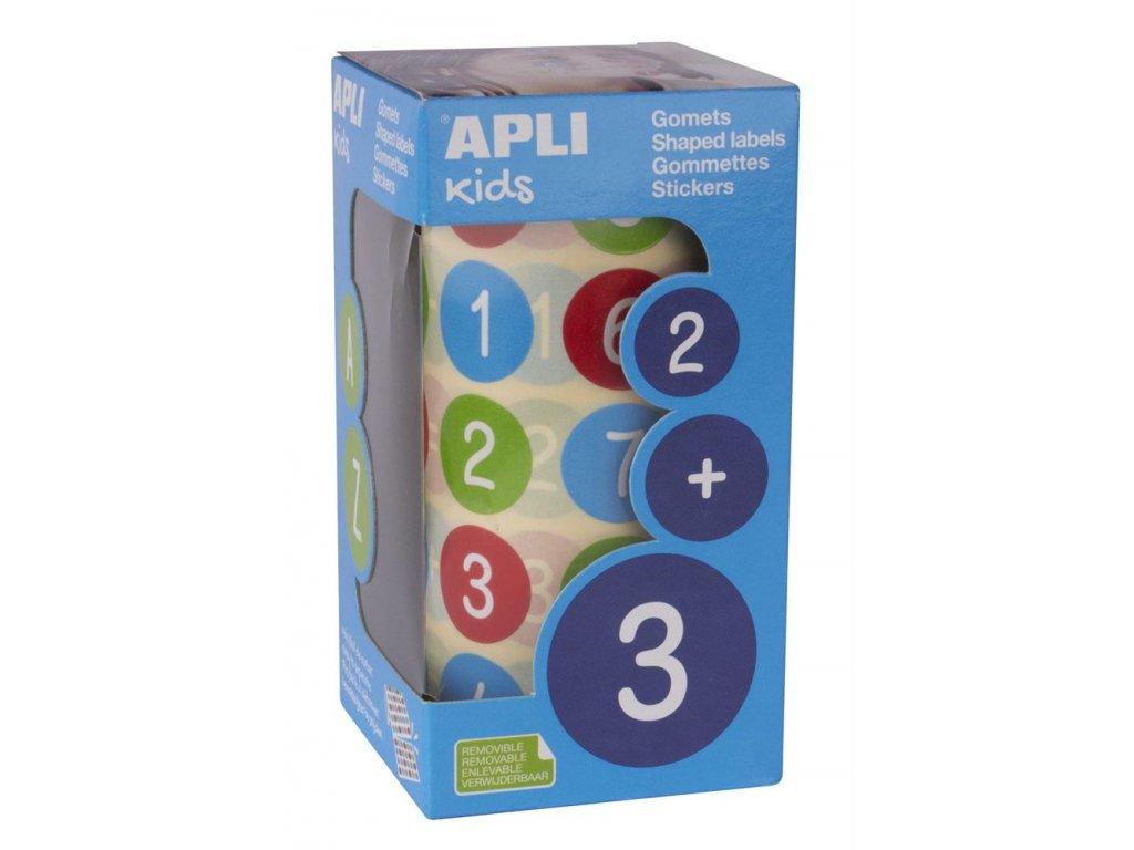Apli, samolepicí číslice