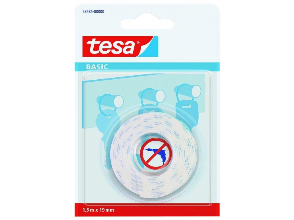 TESA, montážní páska oboustranná základní na zrcadla