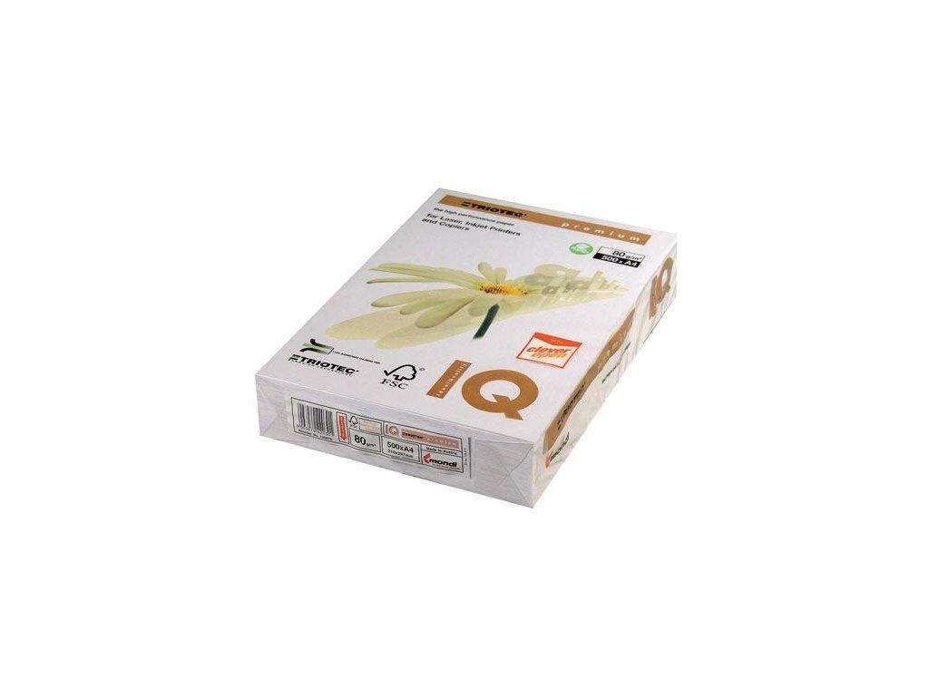 A4, 500 listů, IQ Premium TRIOTEC, xerografický papír A4/80g.