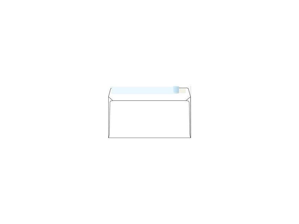 obálka DL podlouhlá samolepicí s páskou, 1000 ks