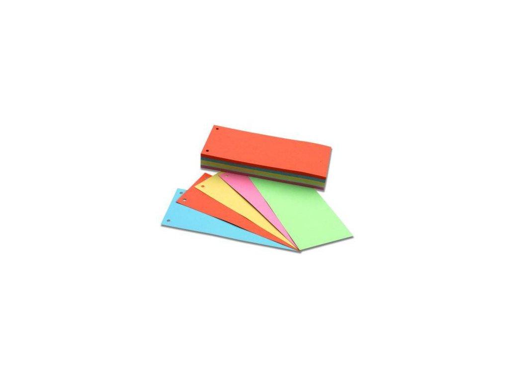 HIT, rozdružovač, rozlišovač, kartonové pruhy, mix 5 barev
