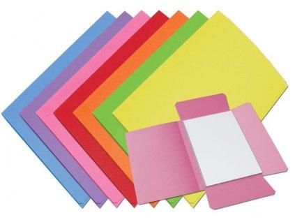 50 x HIT, papírové odkládací desky 253, 3 chlopně, A4