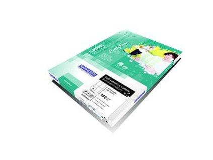 Rayfilm, bílé lesklé samolepicí etikety R0119,  pro laser. tiskárny