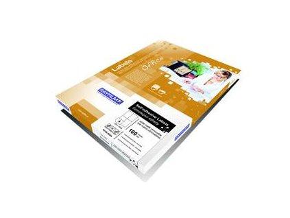 Rayfilm, etiketa samolepicí A3, 297x420 mm bílé, kód R0100.1123A3