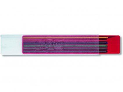 Koh-i-noor, barevná tuha 4301, průměr tuhy 2 mm 6 x barva