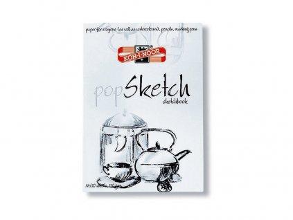 skicák POP SKETCH KOH-I-NOOR A4 20 listů 110g/m2