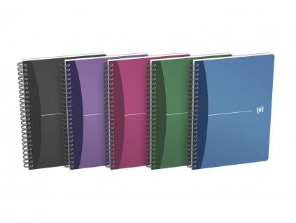 Oxford, Urban Notebook, zápisník se záložkou, rozměry A4, A5