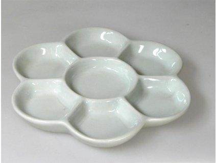 Lukas, porcelánová paleta, tvar květu, průměr 155 mm