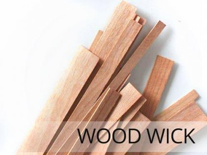 Dřevěné knoty pro výrobu svíček