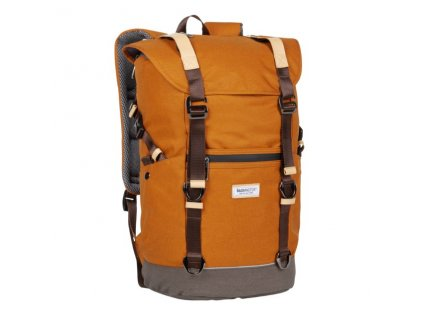 Městský batoh BAGMASTER MESSENGER 20 A ORANGE/BROWN