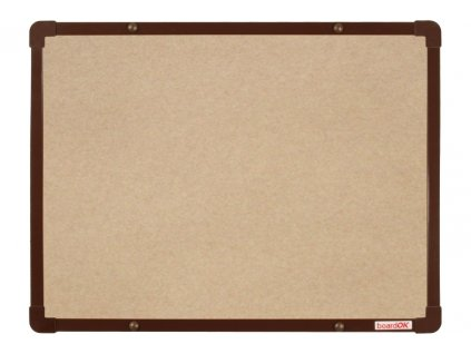 boardOK 60x45 textil hneda f