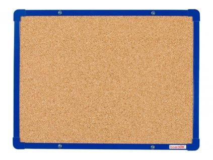 boardOK 60x45 korek modra f