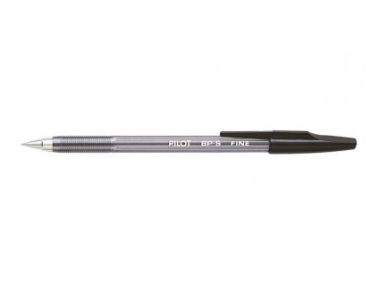 Pilot, černé kuličkové pero BP-S FINE