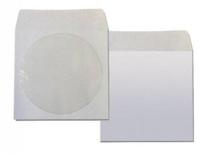 papírová obálka na CD nebo DVD 100 ks