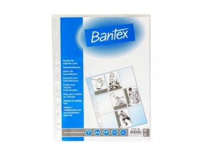 Bantex, fólie A4, obal na sběratelské karty 100 ks