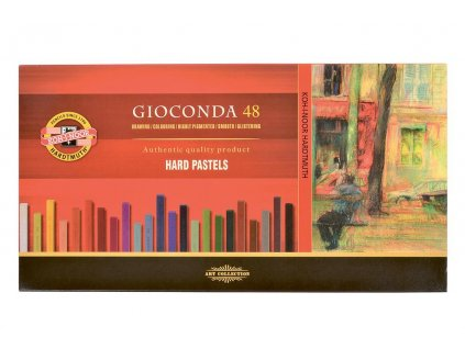 Koh-i-noor, tvrdé umělecké pastely GIOCONDA 8116 - 48 ks