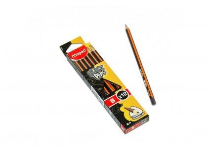 12 x Maped, školní tužka HB, Black Peps