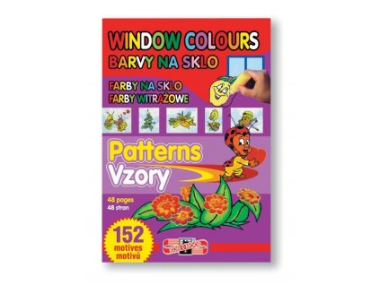 Koh-i-noor, šablona, vzory pro slupovací barvy, 152 motivů