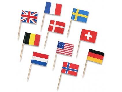 napichovátka vlajky, 30 ks
