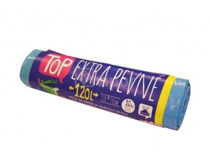 VIPOR, pytel na odpad LDPE 120 L, zatahovací s páskou