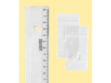 rychlouzavírací sáček 7x10 cm