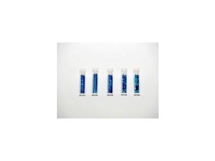 glitr, set 5 x 1,8 g., modrý