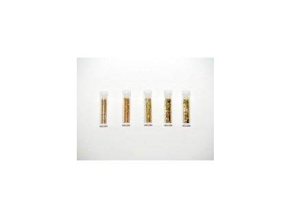 glitr, set 5 x 1,8 g., zlatý