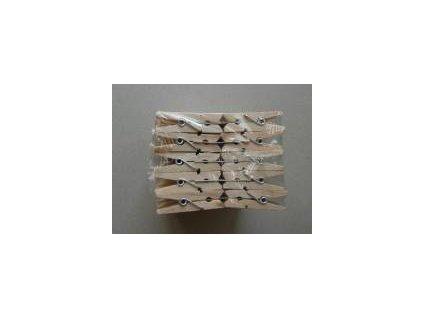 dřevěné kolíčky natur, 35 mm, 10 ks