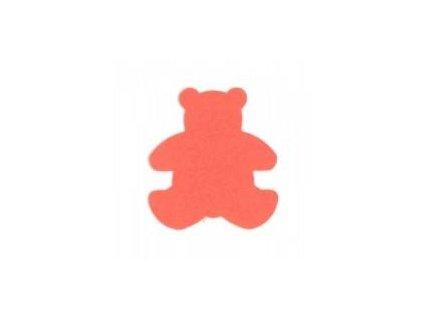 ozdobná střední výseková děrovačka Medvěd