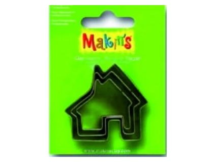 MAKIN'S, vykrajovátko dům, 3 ks