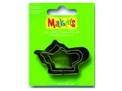 MAKIN'S, vykrajovátko konvička, 3 ks