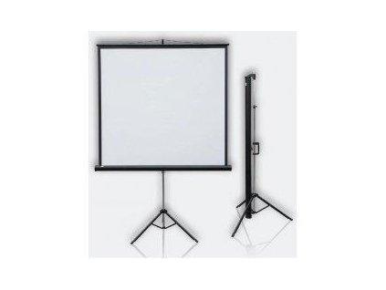 promítací plátno mobilní Pop tripod 108x147 cm
