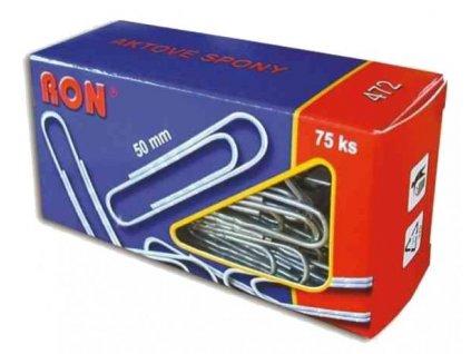 aktové spony 50 mm, RON 472, 75 ks