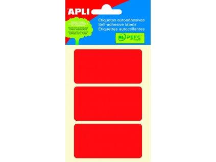 Apli, samolepicí barevné etikety 34x67 mm, 150 ks