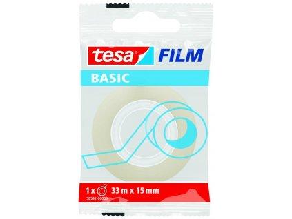 TESA, 33m x 15mm, lepicí páska průhledná