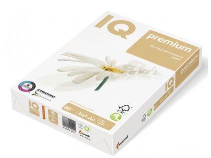 A4, 250 listů, IQ Premium TRIOTEC, xerografický papír A4/160g.