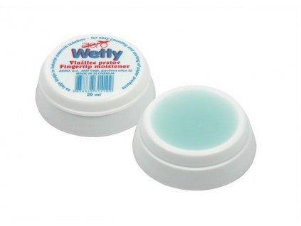Wetty, gelový zvlhčovač prstů, 20 ml