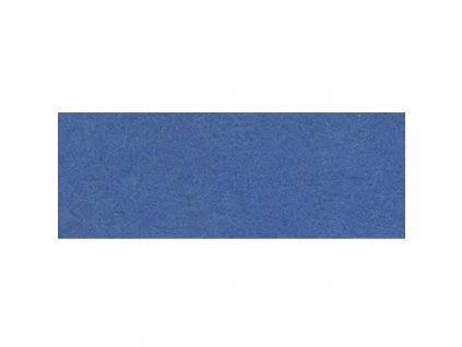 azurově modrá plsť, 20x30 cm