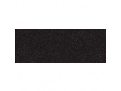 černá plsť, 20x30 cm