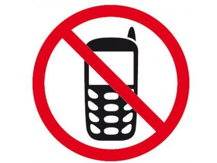 Apli, informační značka, zákaz telefonování