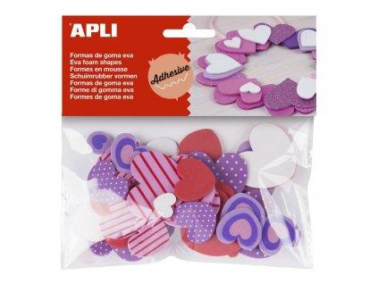 APLI, srdce z pěnové gumy