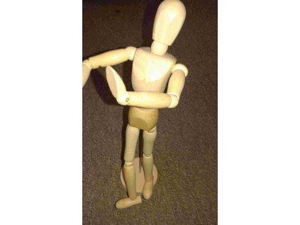 Lukas, dřevěná figurka, muž