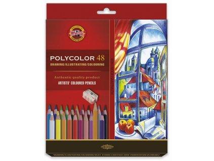 Koh-i-noor, sada uměleckých pastelek POLYCOLOR 48,  48 ks