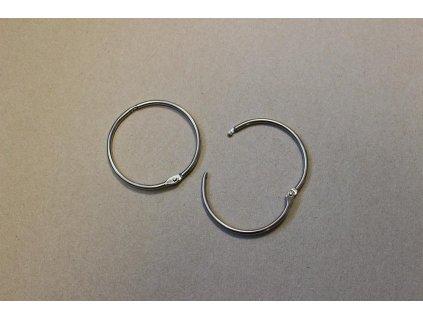 Knihařský kroužek otvírací, 76/82 mm, 2 KS