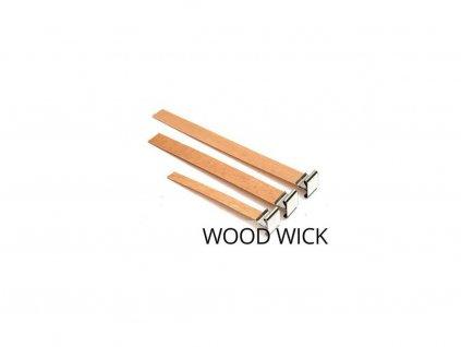 držák na dřevěné knoty